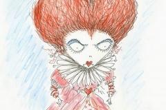 Alice in Wonderland - Croquis