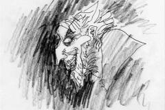 Edward Scissorhands - Croquis