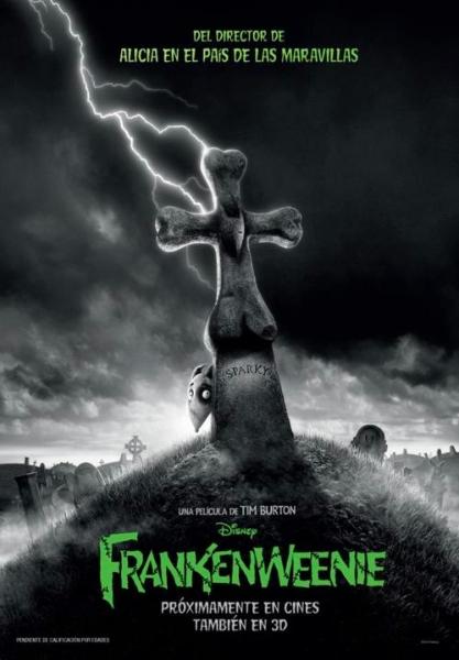 Frankenweenie 2012 Images Promotionnelles Tim Burtonnet