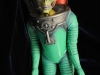 "An original ""Martian in a Space Suit"" stop-motion animation puppet from the movie ""Mars Attacks"" is on display before being sold at the Profiles in History auction in Los Angeles on April 15, 2009. The puppet is valued at between 8,000-10,000 USD and will be sold at the auction along with other Hollywood memorabillia that will take place on April 30 and May 1.            AFP PHOTO/Mark RALSTON (Photo credit should read MARK RALSTON/AFP/Getty Images)"