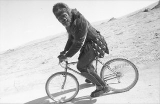 Planet of the Apes on Set: 104D-009-017 Trona, California, USA 2001