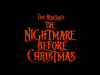 The Nightmare Before Christmas - Le film