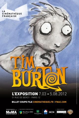 Affiche Tim Burton, L'Exposition
