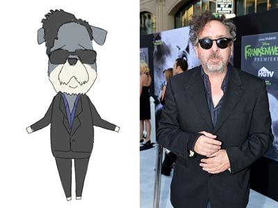 Tim Burton doublage