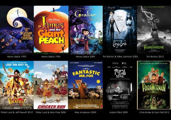 5 films stop motion