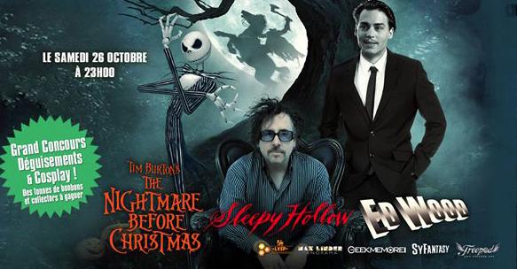 La nuit Tim Burton au Max Linder