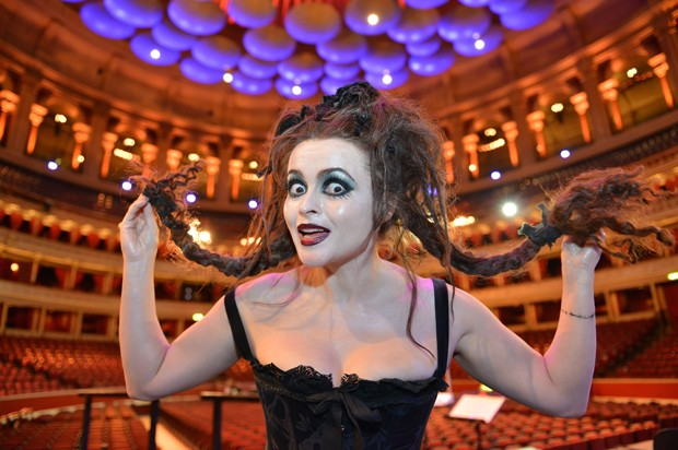 Helena Bonham-Carter au Royal-Albert Hall