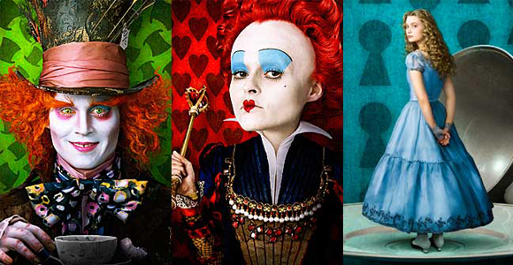 Le casting d'Alice in Wonderland