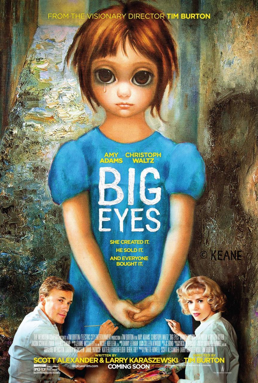 Big Eyes affiche