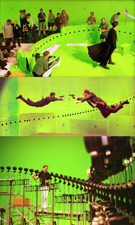 Tournage de The Matrix (1999)