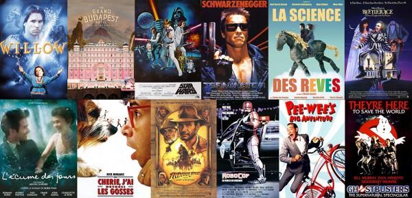 Liste non exhaustive de longs métrages lives incluant de la stop-motion